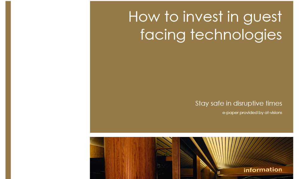 technology in hospitality industry whitepaper