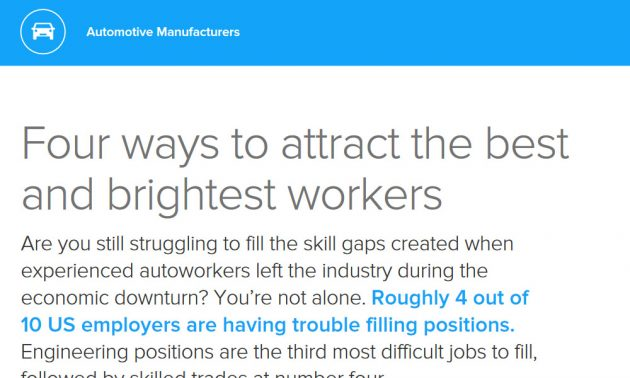 Talent management in manufacturing industry white paper