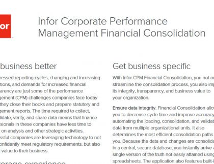 TRG Financial management software