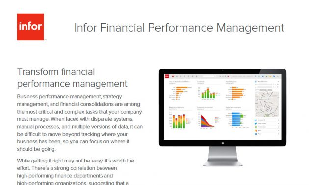 TRG technology services for financial management