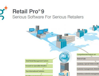 Retail Pro and technology in retail management white paper