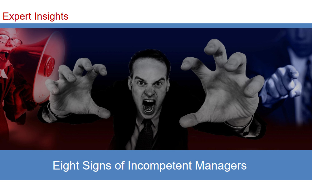 Eight Signs of Incompetent Managers 1