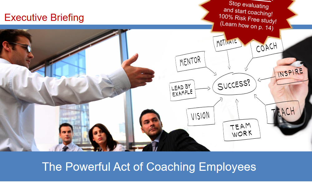 """""""The Powerful of Act Coaching Employees"""" 1"""