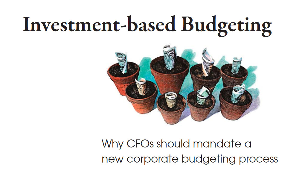 Invest and Budgeting management white paper