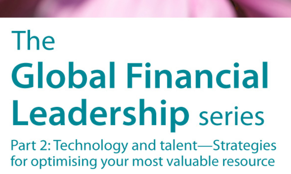 The global financial leadership white paper series: Technology and Talent