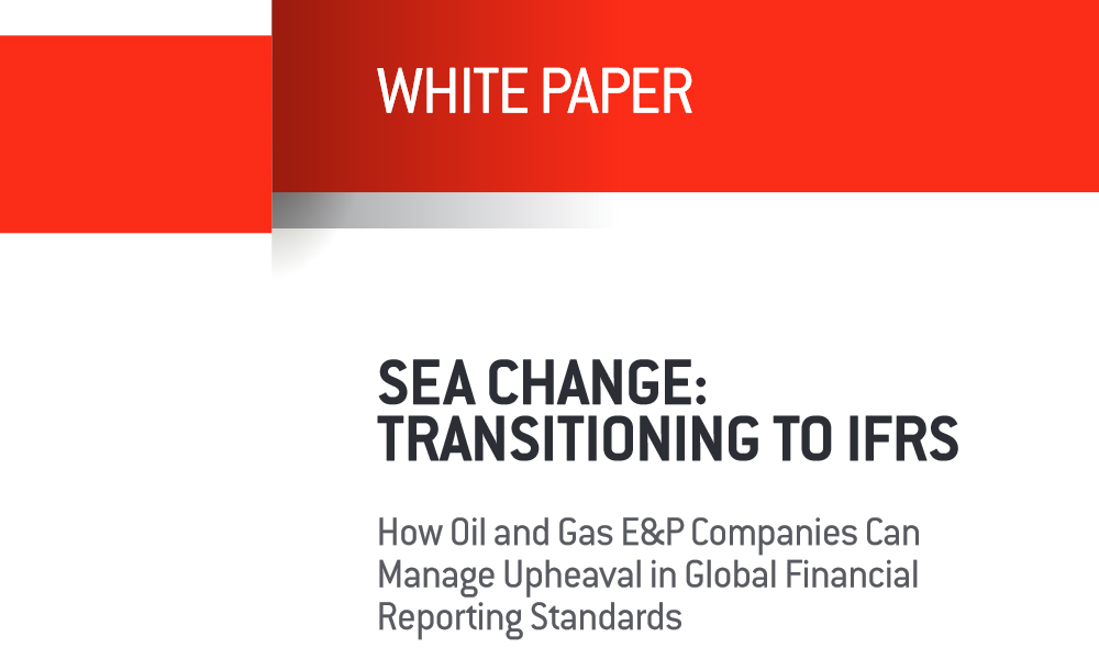 IRFS implementation on oil and gas E&P company white paper
