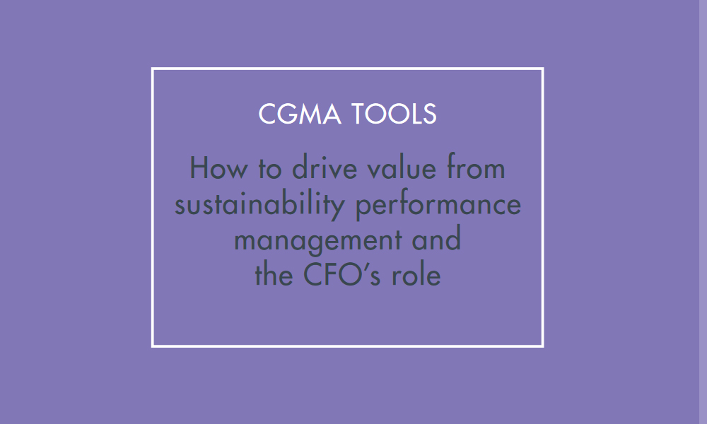 CGMA paper about financial management
