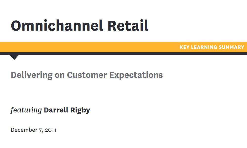 Retail managing optimization white paper