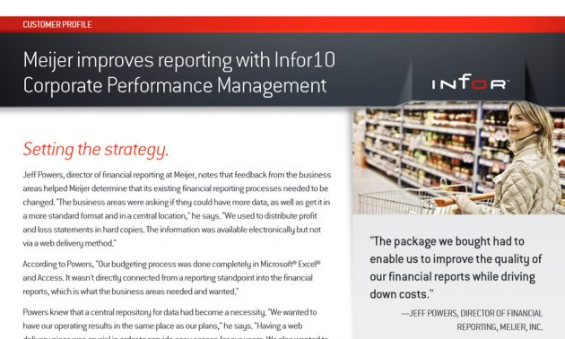 Infor d/epm best practice white paper