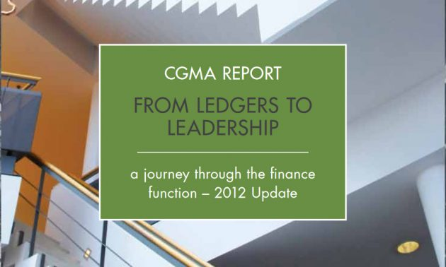 CGMA Report in finance industry white paper
