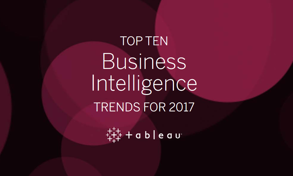 Tableau software and Business Intelligence BI update