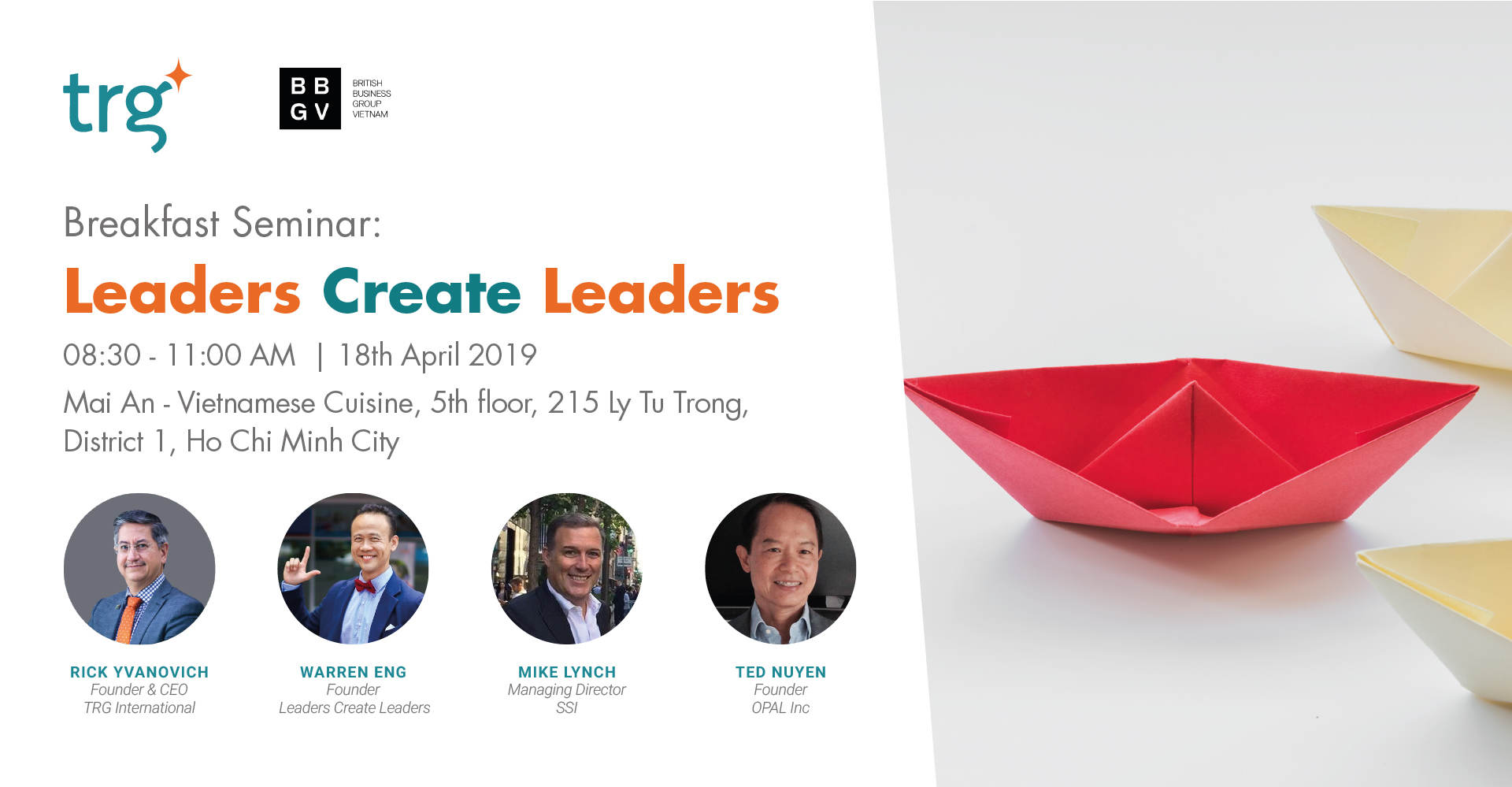 Breakfast Seminar: Leaders Create Leaders 1