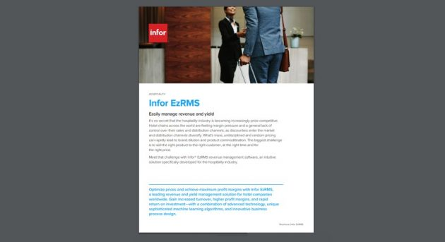 Product brochure for Renevenue Management System