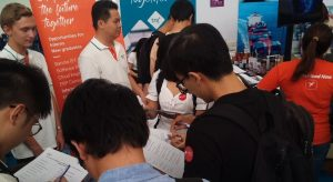 TRG Job fair event