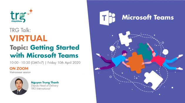 TRG Talk Virtual webinar event banner
