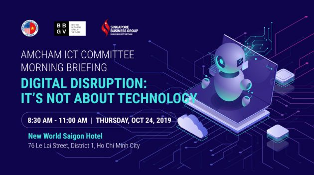 Amcham ICT conference event banner
