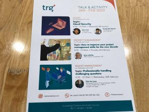 TRG Talk event series