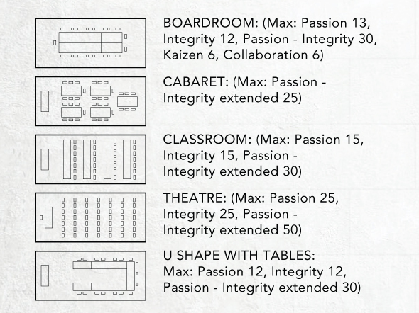 Hire meeting rooms at TRG