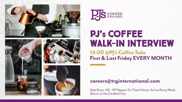 TRG F&B Recruitment Event banner