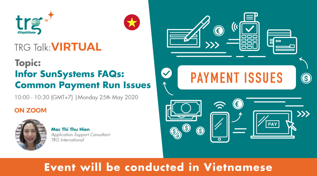Infor SunSystems FAQ: Common Payment Run Issues 1