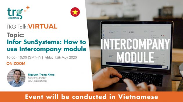 Infor SunSystems: How to use Intercompany module 6
