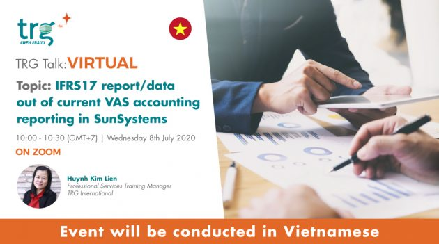 IFRS17 report/data out of current VAS accounting reporting in SunSystems 8