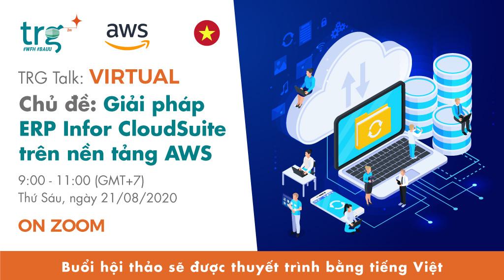 Giải pháp ERP Infor CloudSuite trên nền tảng AWS 1
