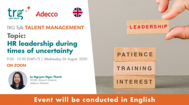 HR leadership during times of uncertainty 2