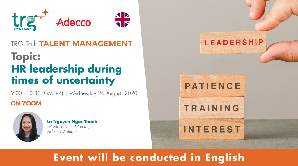 HR leadership during times of uncertainty 1