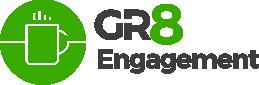 GR8 engagement logo