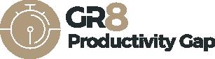 GR8 Productivity Gap logo