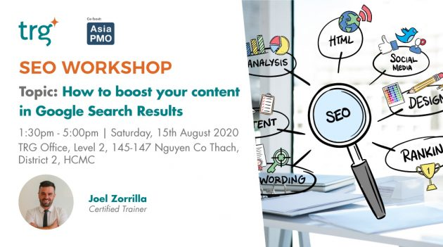 SEO Workshop. How to boost your content in Google Search Results 1