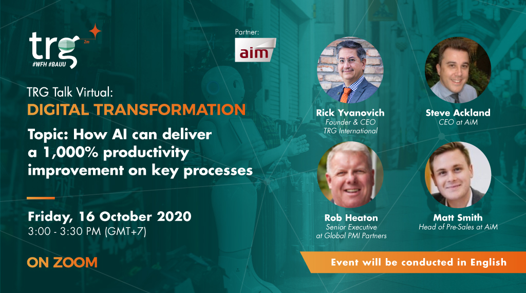 How AI can deliver a 1,000% productivity improvement on key processes 1