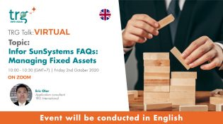 Infor SunSystems FAQs: Managing Fixed Assets 3