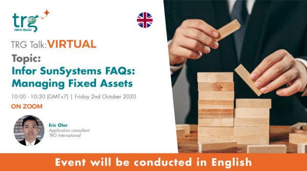 Infor SunSystems FAQs: Managing Fixed Assets 8