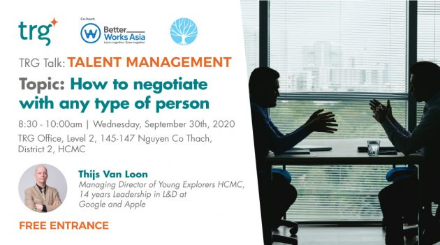 How to negotiate with any type of person 1