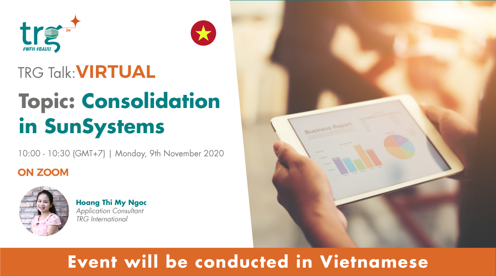 Consolidation in SunSystems 1