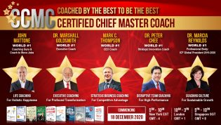 Certified Chief Master Coach (e-CCMC) 2020 3