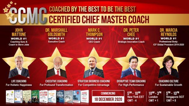 Certified Chief Master Coach (e-CCMC) 2020 1