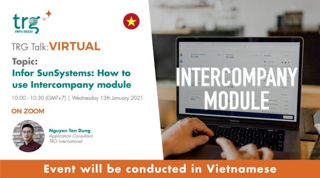 Infor SunSystems: how to use Intercompany module 5