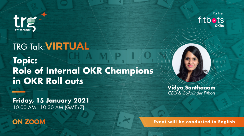Role of Internal OKR Champions in OKR Roll outs 1