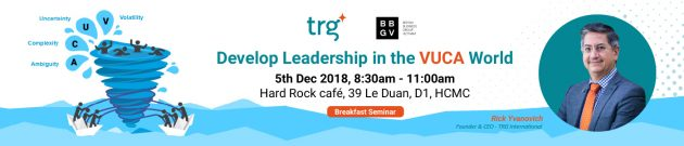 BBGV and TRG corporate event banner