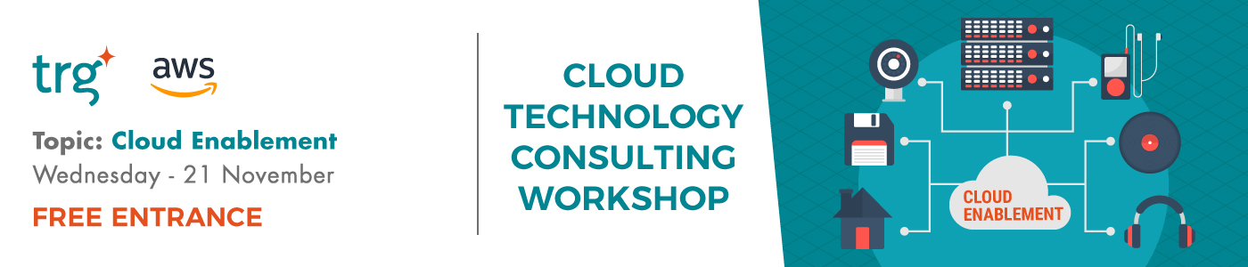 TRG Talk Cloud Enablement event banner
