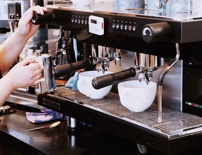 Barista training services of TRG F&B